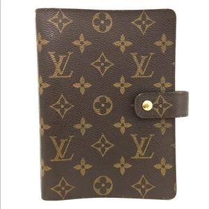 Louis Vuitton Monogram Notebook Organizer Planner